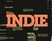 Typographic Infograph