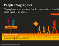 People Infographics (PowerPoint) - Free
