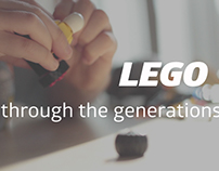 Two videos about how Lego spans the generations.