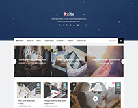 Oxite - Responsive Blog WordPress Theme