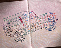 Land Rover // Passport Stamps
