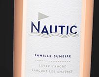 Nautic Wine label