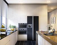 Internal scene - kitchen