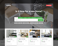 HomeZZ: Real Estate Listings Homepage
