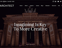 Architect - Interior Design WordPress Theme