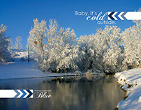 Baby, It's Cold Outside Photo Design