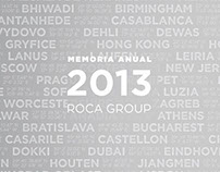 Memoria anual - Roca Group