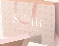 BRANDING, Brandbook, Print, Packaging | Solli Fashion