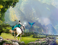 Fairy Tales Matte painting