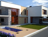 Project of a house in Odessa, 265 sq.m.