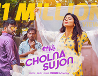 """Cholna sujon"" song post"