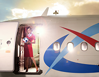 Ural Airlines 2018 FIFA World Cup Ad campaign