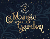 Magic Garden Font & Graphics