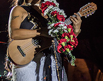 "Lila Downs presentando ""Balas y Chocolate"""