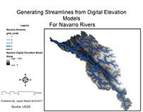 Generating Streamlines from Digital Elevation Model-DEM