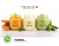 Nourish Gourmet Baby Food Made With Love