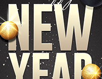 New Years Eve Psd Flyer