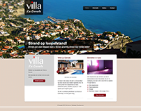 Spanish villa website (old work)