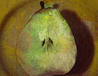 Half a pear
