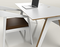 3D visualisation - Workspace + Seat (3)
