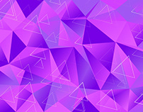 Abstract Vector Backgrounds for $1