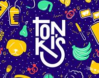 Tonki's Brand Identity