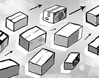 Pas de deux. Letter 4 | 25 BOXES