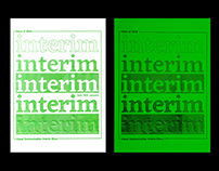 Interim Visual Communication Show