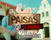 Pilsen / Berracamente Paisa - Paisas vs el mundo