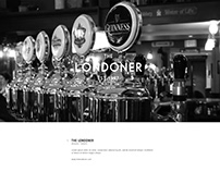The Londoner Website and Branding Project