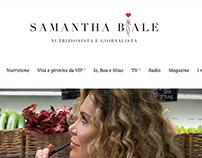 Logo design Samantha Biale
