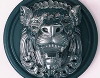 Lion Keyshot Render