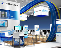 Sigmatek Booth Visualization for BBCO MesseManufaktur