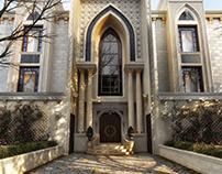 New classic villa...