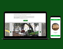 Website and Presentation for woodworking company