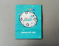 Kinder Explorers Yearbook | Editorial Design