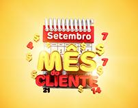 Selo Mês do Cliente -Supermercados Tatico