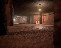 The Cellar - Environment design with Maya and UE4
