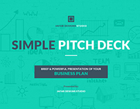 Simple Pitch Deck PowerPoint Template