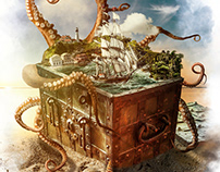 Treasure Chest - Photoshop Creative Magazine 166