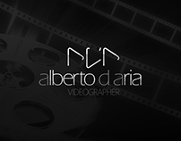 logo  |  official      for alberto d'aria videographer
