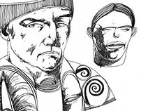 6 drawings