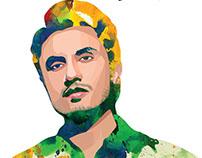 Ali Zafar Illustration - YAMAHA Merchandise