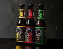Rock Paper Scissors indie Brewery — identity