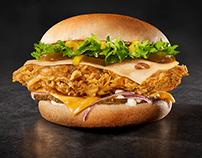 KFC Real Burger Jr.