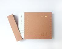 《給你》年曆|客製設計