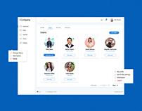 User Profile - CRM concept