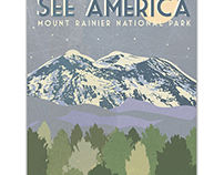 See America Poster for the Creative Action Network