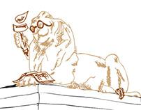 NYC Public Library Mascot