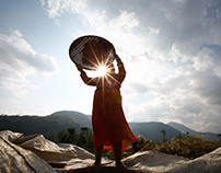 Daily Life Pictures in Nepal